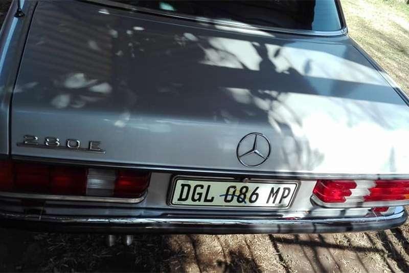 Mercedes Benz 280E 1985