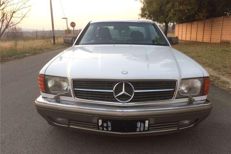 Mercedes Benz 560SEC 1991