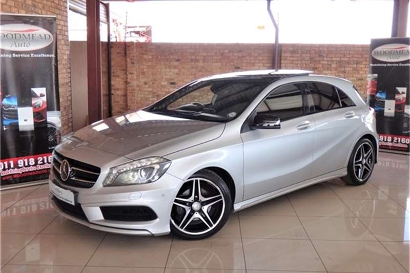 Mercedes Benz A Class 200 Blue Efficiency AMG Sport Auto 2014