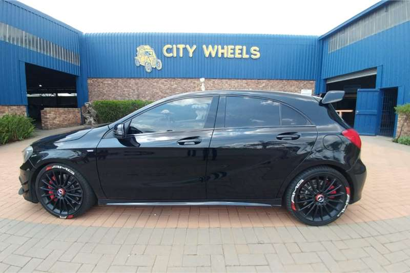 2013 Mercedes Benz A-Class hatch AMG A45 S 4MATIC
