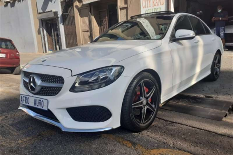 Used 2015 Mercedes Benz C Class C180 AMG Sports