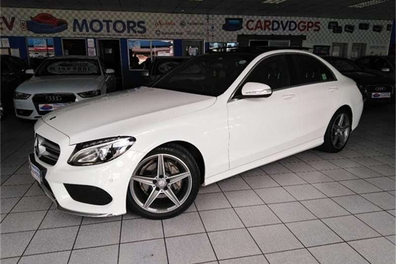 Mercedes Benz C Class C180 AMG Sports auto 2014