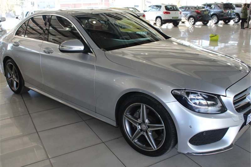 Mercedes Benz C Class C180 AMG Sports auto 2015