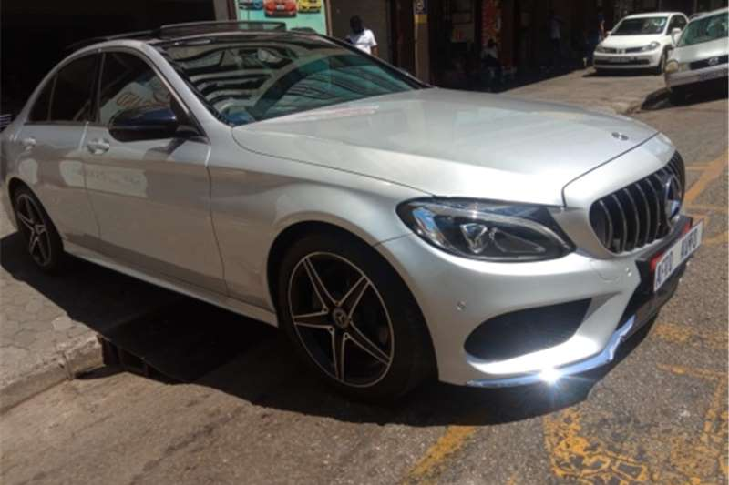 Used 2018 Mercedes Benz C Class C180 AMG Sports auto