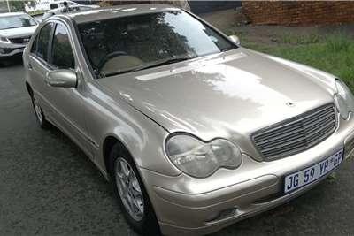 Used 2001 Mercedes Benz C Class C180 auto