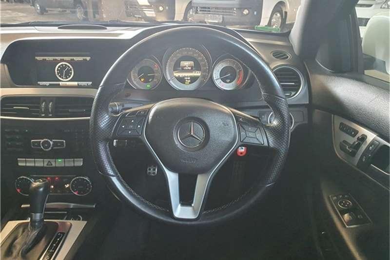 Used 2013 Mercedes Benz C Class C180 coupé auto