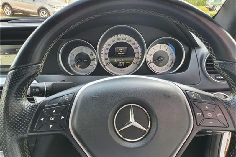 Mercedes Benz C Class C180 coupé auto 2014