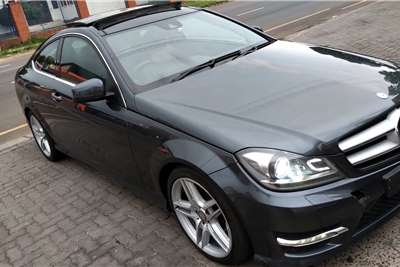 Mercedes Benz C Class C180 coupe AMG Sports 2013