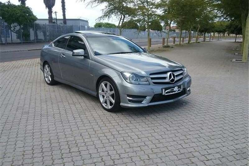 Mercedes Benz C Class C180 Coupe AMG Sports Auto 2013