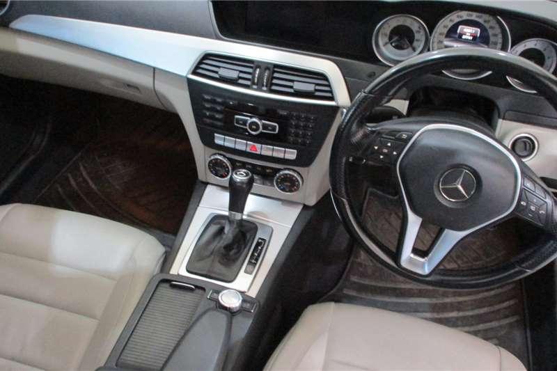 Mercedes Benz C Class C180 coupe AMG Sports auto 2013