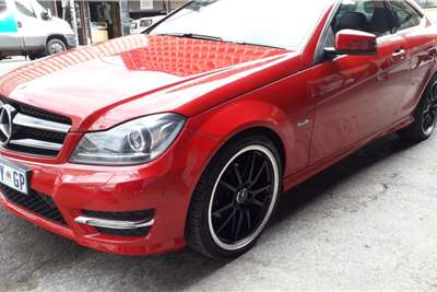 Used 2015 Mercedes Benz C Class C180 coupe AMG Sports auto