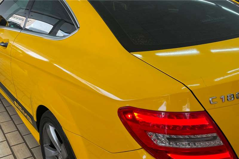 Used 2013 Mercedes Benz C Class C180 coupe auto