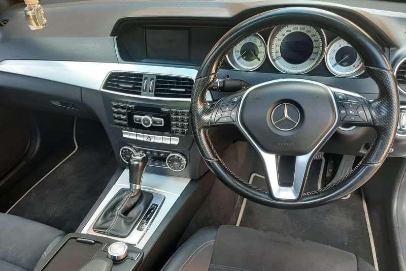 Mercedes Benz C Class C180 coupe auto 2015