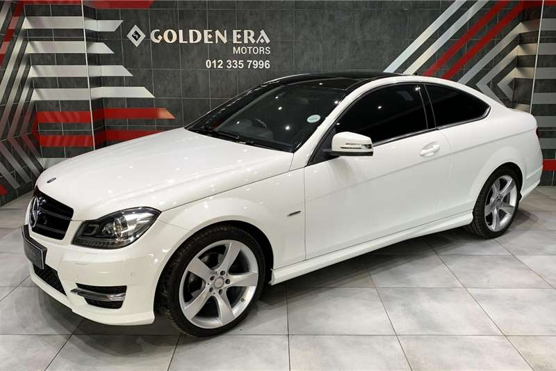 Used 2015 Mercedes Benz C Class C180 coupe auto