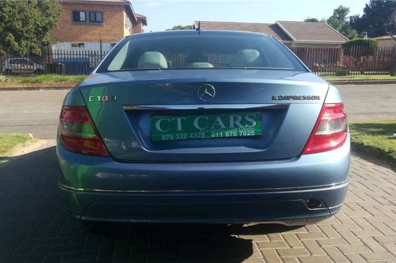 Used 2009 Mercedes Benz C-Class C180 Edition C