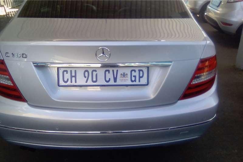 Mercedes Benz C-Class C180 Edition C 2012