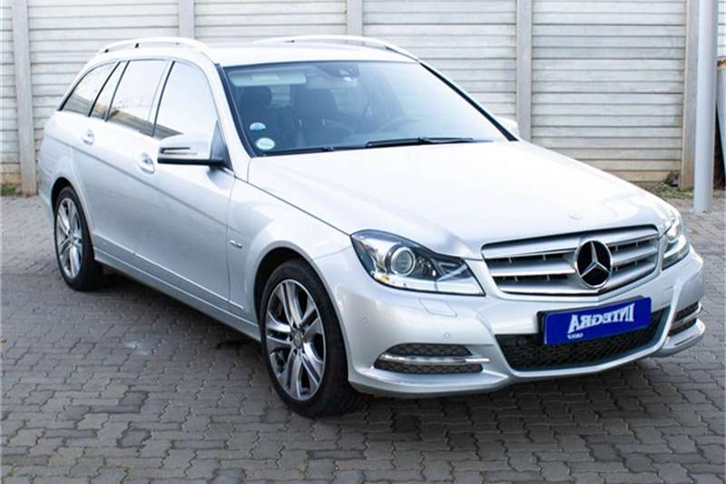 Mercedes Benz C Class C180 estate Avantgarde auto 2012
