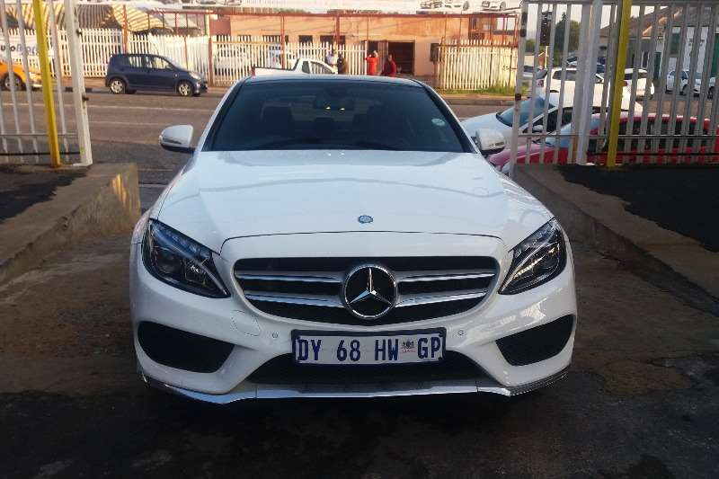 Mercedes Benz C Class C180 estate Exclusive auto 2015