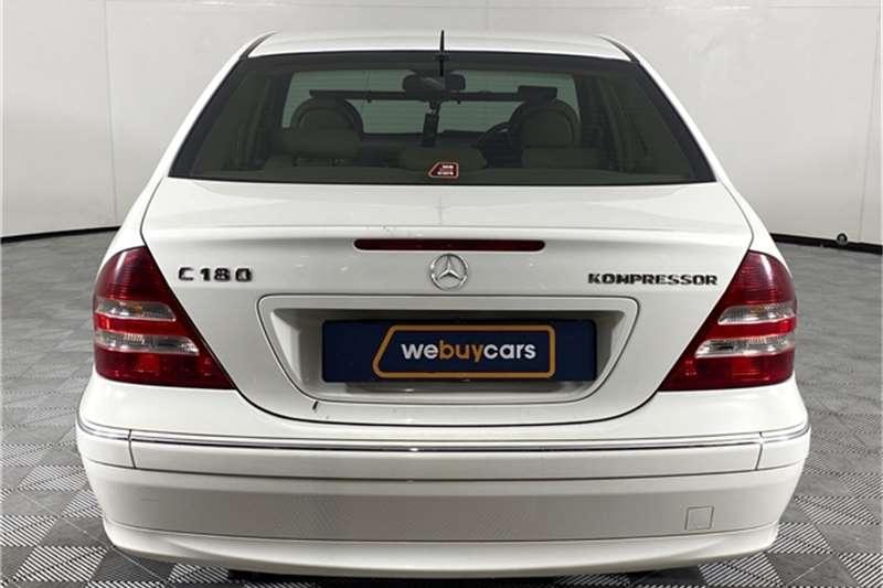 2004 Mercedes Benz C Class C180 Kompressor Avantgarde Touchshift