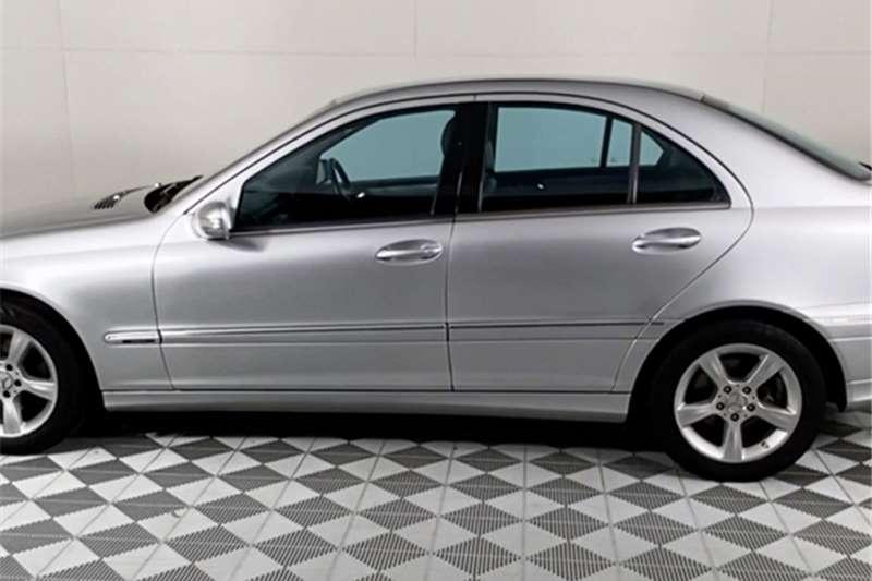 2007 Mercedes Benz C Class C180 Kompressor Avantgarde Touchshift