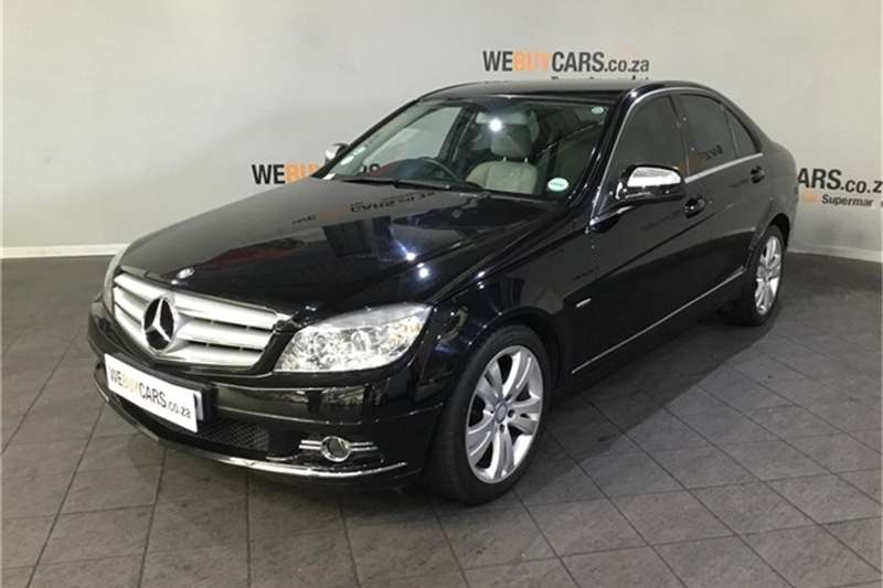 Mercedes Benz C Class C180 Kompressor Avantgarde Touchshift 2008