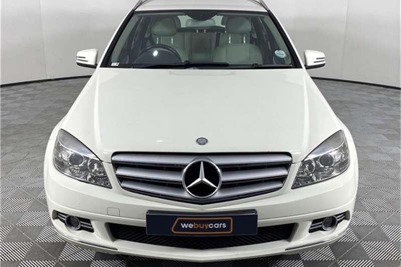 2009 Mercedes Benz C Class C180 Kompressor estate Classic Touchshift