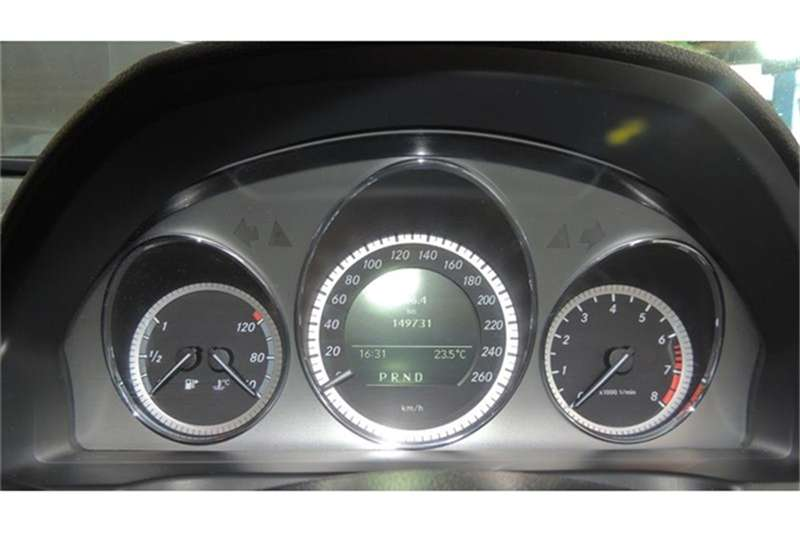 Mercedes Benz C Class C180CGI estate Elegance Touchshift 2011