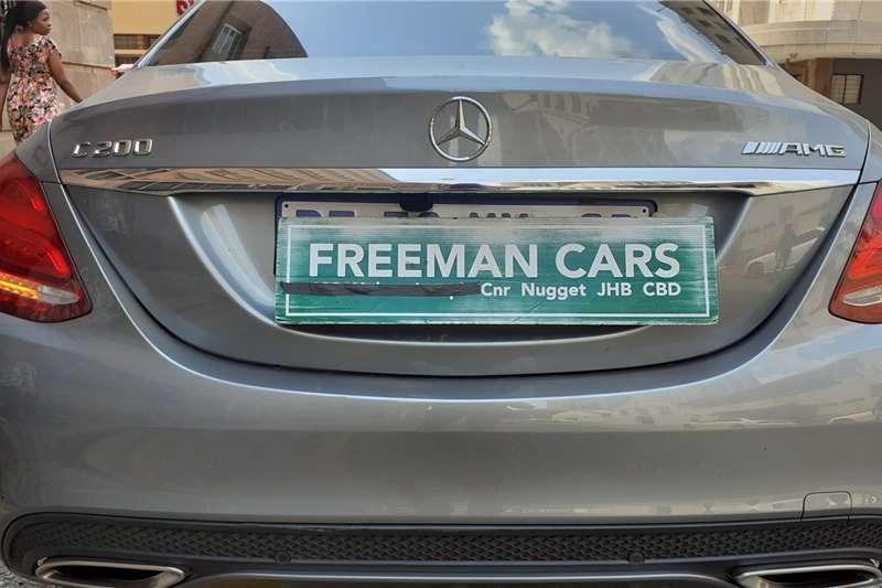 Mercedes Benz C-Class C200 amg 2015
