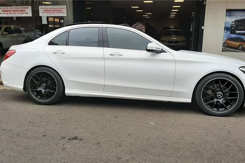 Used 2016 Mercedes Benz C Class C200 AMG Line auto