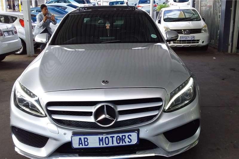 Used 2016 Mercedes Benz C Class C200 AMG Line auto