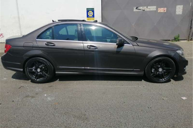Used 2013 Mercedes Benz C Class C200 AMG Sports auto