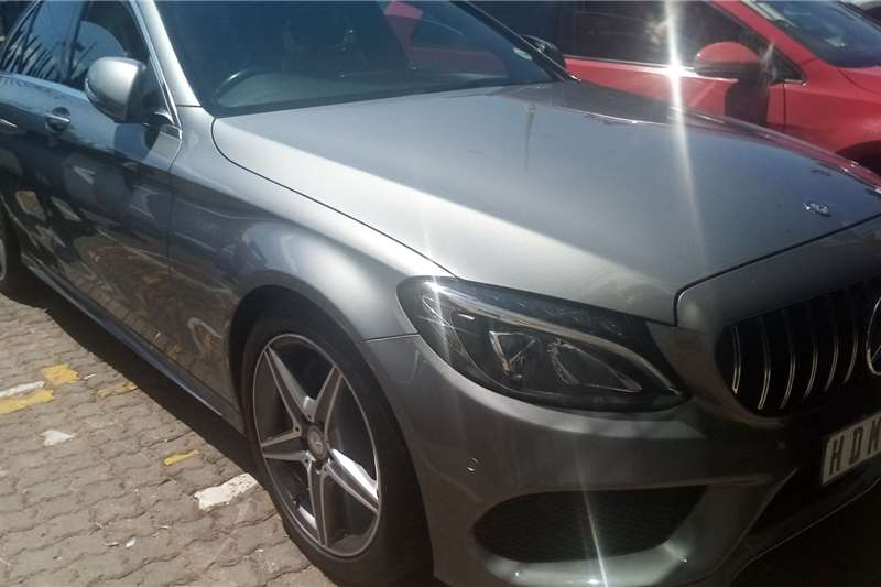 Used 2015 Mercedes Benz C Class C200 Avantgarde AMG Sports