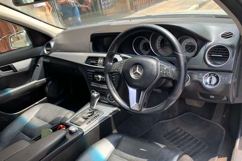 Mercedes Benz C-Class C200 blue efficiency 2012