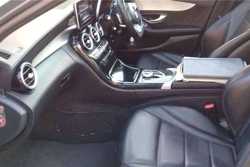 Mercedes Benz C Class C200 cabriolet AMG Line auto 2015