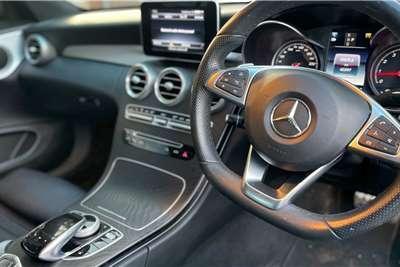 Mercedes Benz C Class C200 cabriolet AMG Line auto 2017