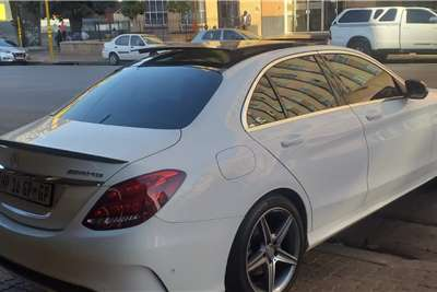Mercedes Benz C Class C200 cabriolet AMG Line auto 2018
