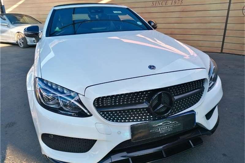 Used 2018 Mercedes Benz C Class C200 cabriolet AMG Line auto