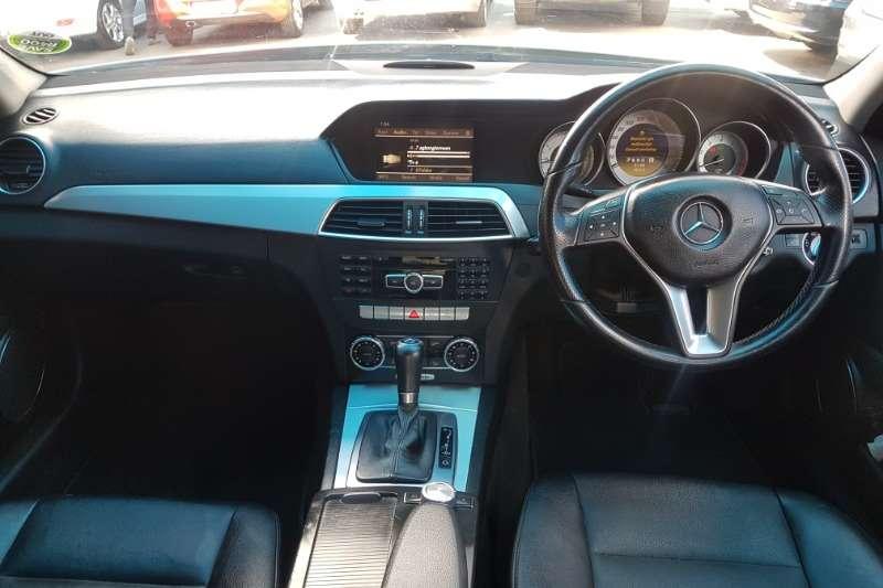 Mercedes Benz C Class C200 cabriolet auto 2012