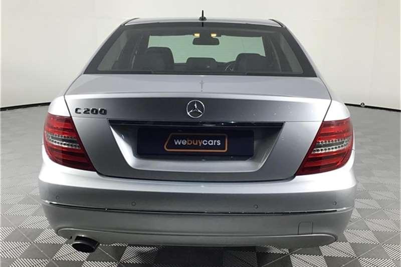 Mercedes Benz C Class C200 Classic auto 2012