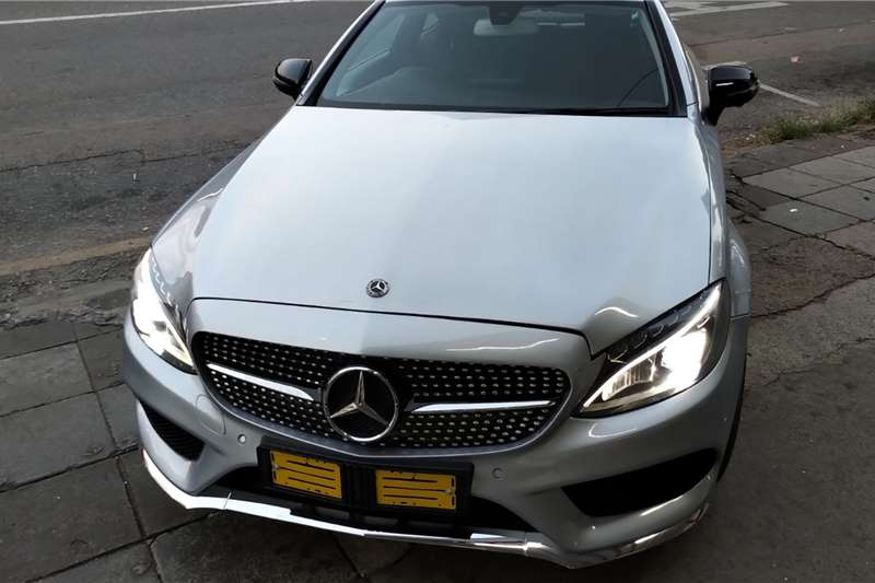 Used 2016 Mercedes Benz C Class C200 coupe
