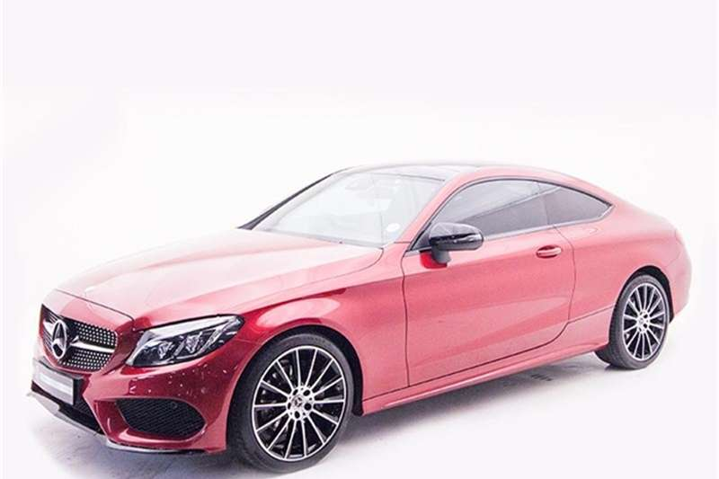 Mercedes Benz C Class C200 coupe AMG Line 2017