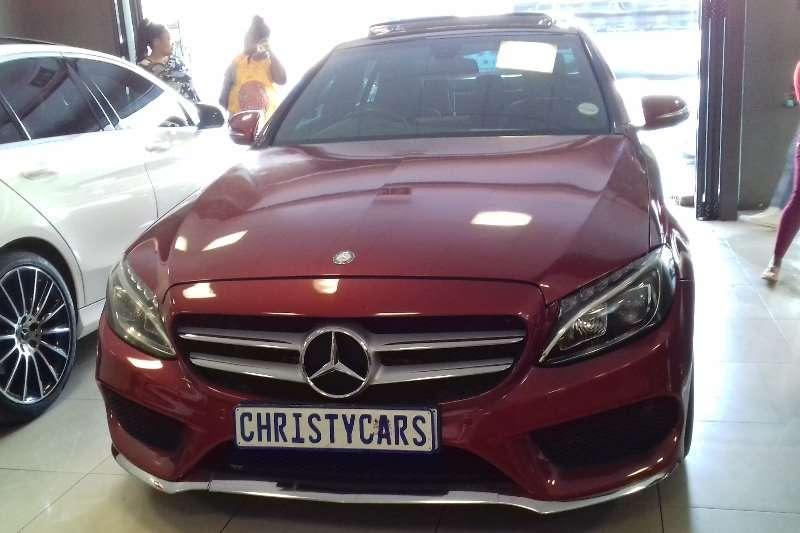 Mercedes Benz C Class C200 coupe AMG Line auto 2015