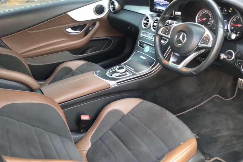 Mercedes Benz C Class C200 coupe AMG Line auto 2016