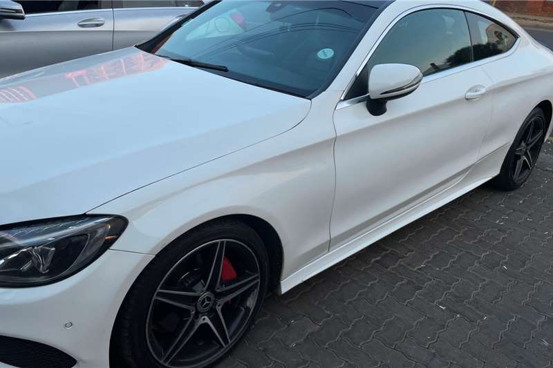 Used 2016 Mercedes Benz C Class C200 coupe AMG Line auto