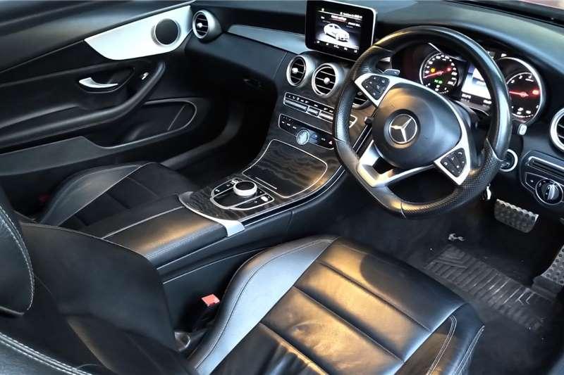 Mercedes Benz C Class C200 coupe AMG Line auto 2017