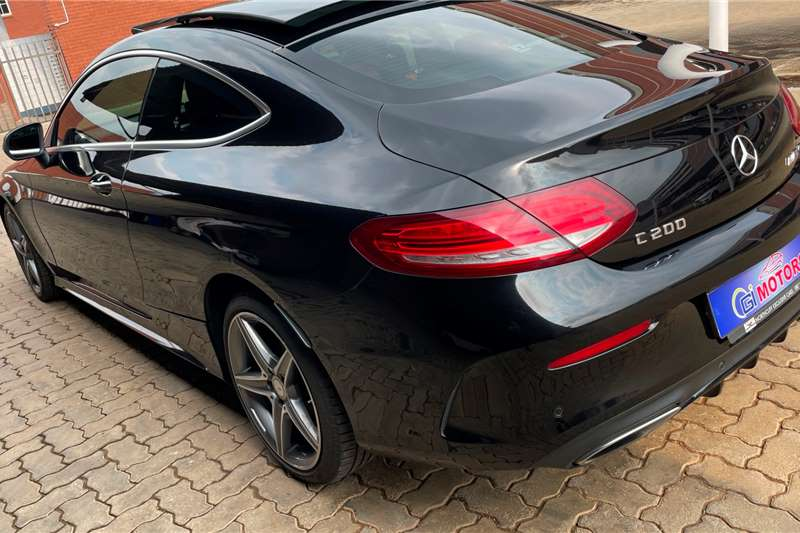 Used 2017 Mercedes Benz C Class C200 coupe AMG Line auto