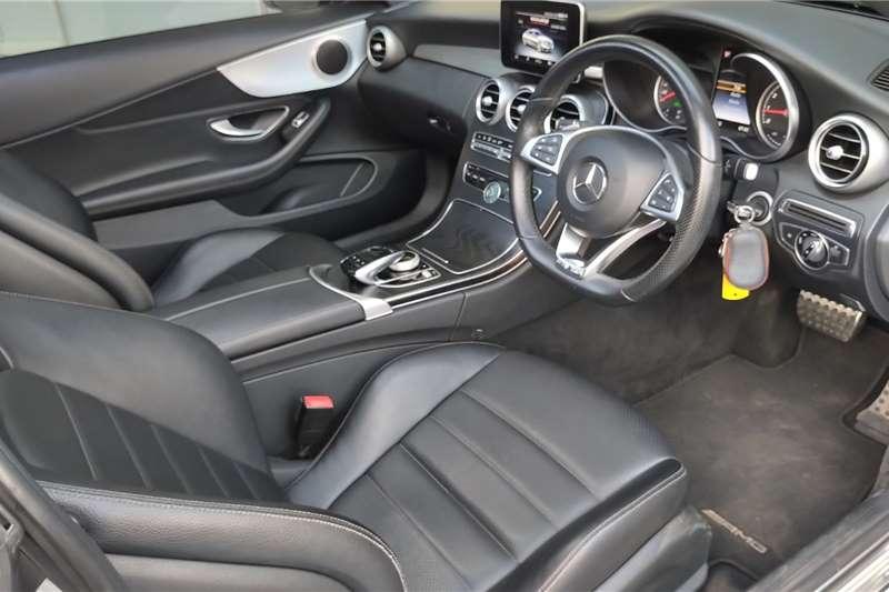 Mercedes Benz C Class C200 coupe AMG Line auto 2019