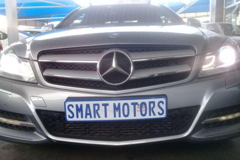 Mercedes Benz C Class C200 coupe auto 2014