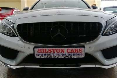 Mercedes Benz C Class C200 estate AMG Line auto 2015