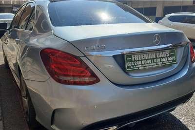 Used 2016 Mercedes Benz C Class C200 estate AMG Line auto